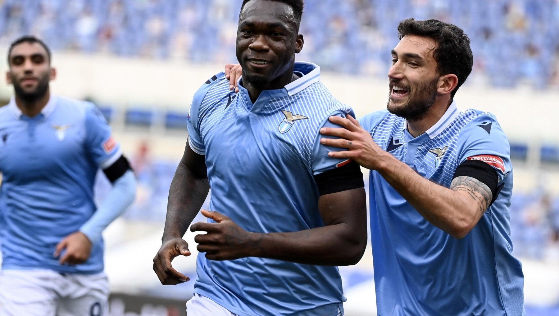 Lazio-Spezia 2-1, Caicedo decide su rigore nel finale