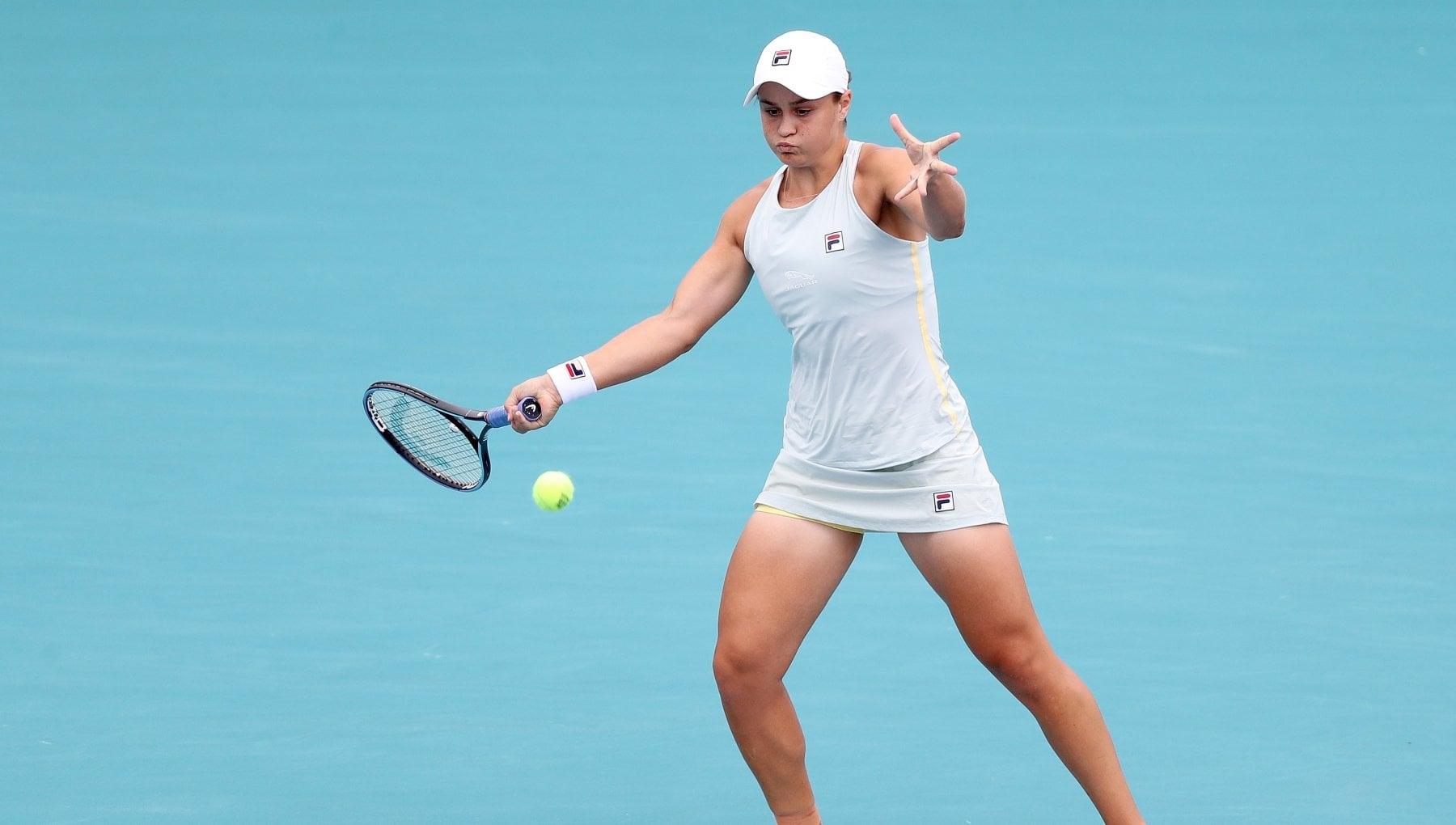 Tennis, Wta Miami: Andreescu si ritira, titolo alla Barty