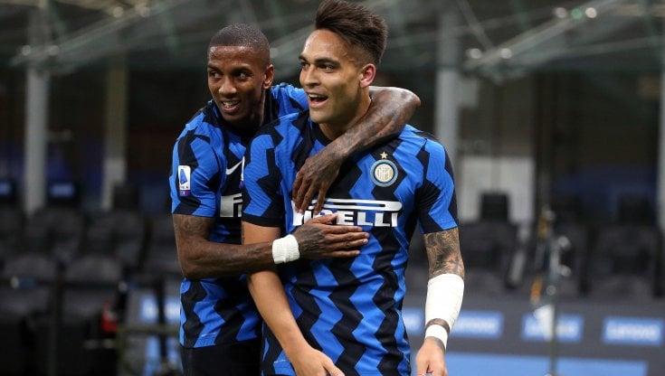Inter-Sassuolo 2-1: Lukaku-Lautaro, nerazzurri in fuga scudetto