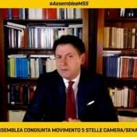 """M5S, Conte ai deputati: """"Partito o movimento non importa"""". Altolà di Casaleggio: """"Il..."""