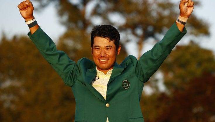 Golf, Matsuyama, il ragazzo dello tsunami è diventato grande: primo Masters a un asiatico