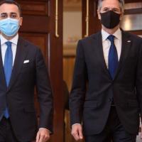 """Blinken riceve Di Maio: """"Dalla pandemia alla Libia, la leadership dell'Italia è cruciale"""""""