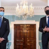 """Blinken incontra Di Maio: """"Dal Covid alla Libia la leadership italiana è cruciale"""""""