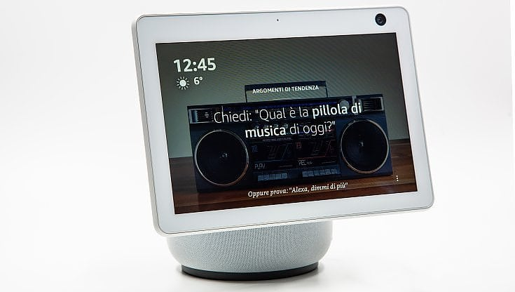 Echo Show 10, gli schermi smart di Amazon si trasformano in robot