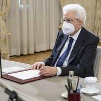 """Mattarella: """"Il legame Italia Usa è un impegno a difesa della democrazia"""""""