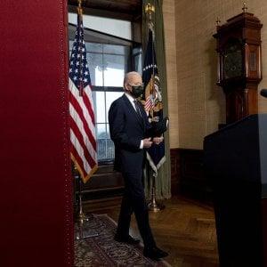 """062505255 30a49006 fc3b 443a 8abb ddd9bb52991b - Tensione tra Usa e Russia, l'appello di Biden a Putin: """"Fermiamo l'escalation, è l'ora di lanciare un dialogo sulla stabilità"""""""