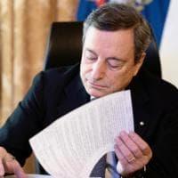 Riaperture, in settimana il nuovo decreto. Draghi potrebbe incontrare le Regioni