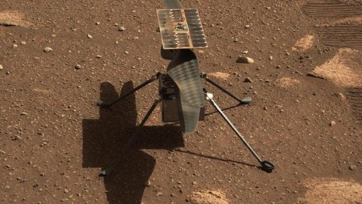 """Spazio, il drone-elicottero """"Ingenuity"""" della Nasa si alza su Marte: primo volo su un..."""