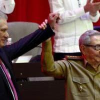 Cuba, Díaz-Canel nuovo segretario del Partito comunista. Con Raúl, via tutta la vecchia...