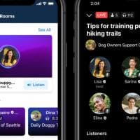 Social audio, ecco la risposta di Facebook a Clubhouse con podcast e stanze