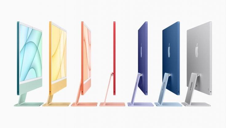 Apple, evento Spring Loaded. Nuovi iMac colorati, iPad Pro mette il turbo con M1. E...