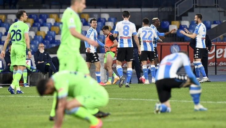 Diretta Napoli-Lazio 5-2: azzurri più vicini alla Champions - la Repubblica