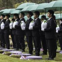 Cina, la guerra delle sepolture