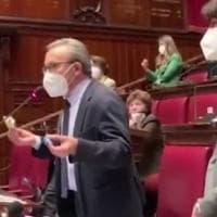 Mafia, alla Camera solidarietà del Pd all'imprenditore Condorelli. La ministra Carfagna:...