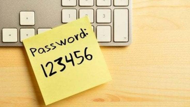 Sei ti ricordi la password allora hai sbagliato qualcosa