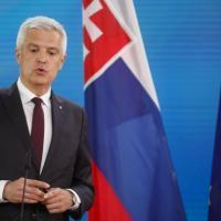 """Il ministro degli Esteri slovacco Ivan Korcok: """"Mosca sbaglia, non capisce che il Muro è..."""