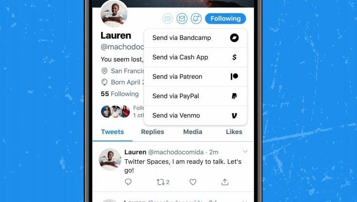 Su Twitter arrivano le mance: ora puoi ricompensare gli utenti più meritevoli