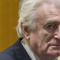 Balcani, Karadzic finirà di scontare l'ergastolo in un carcere britannico