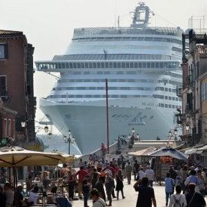 120208839 1d9174f2 4493 4c1d ba61 39b80ad48c2b - Venezia, dopo la pandemia tornano le grandi navi. E riparte anche la protesta
