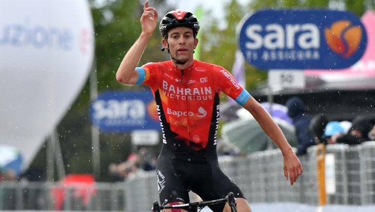Ciclismo, Giro dItalia: impresa di Mader. Valter, la prima volta dellUngheria in maglia rosa