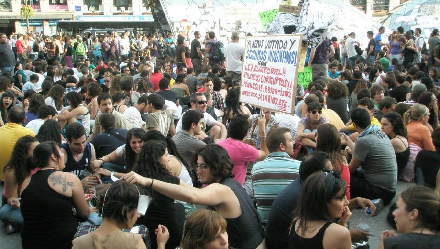 """150111158 c52b6d25 671e 47e7 b044 5de089c3f5a9 - I dieci anni degli """"indignados"""", il movimento di protesta che ha cambiato la Spagna"""