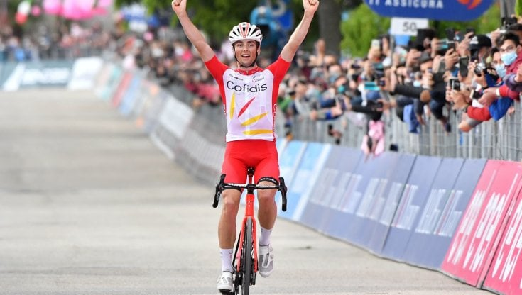 Ciclismo, Giro dItalia: è il giorno del francese Lafay. Valter resta in maglia rosa