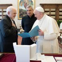 Il ministro iraniano Zarif incontra D'Alema