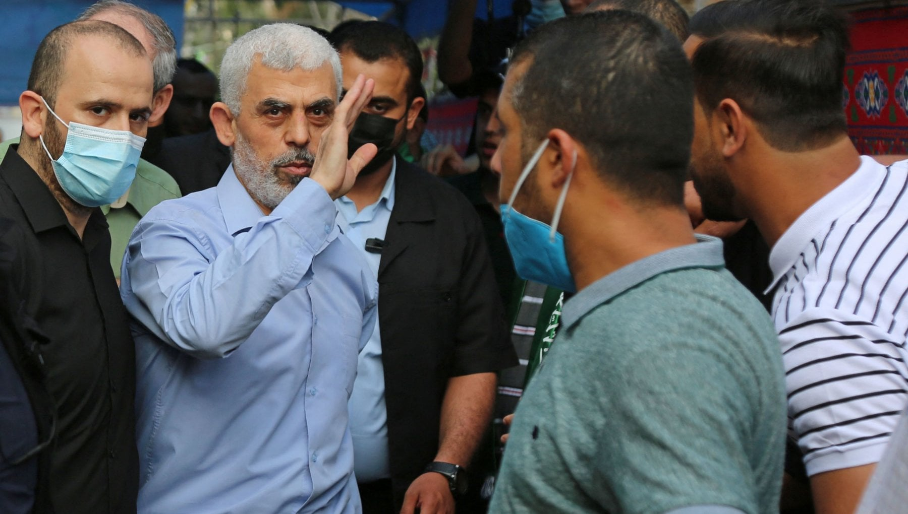 220100032 4ec33114 fd93 48da 87f6 c266cbb78c01 - Il ritorno di Sinwar. Il capo di Hamas a Gaza si mostra e sfida Israele