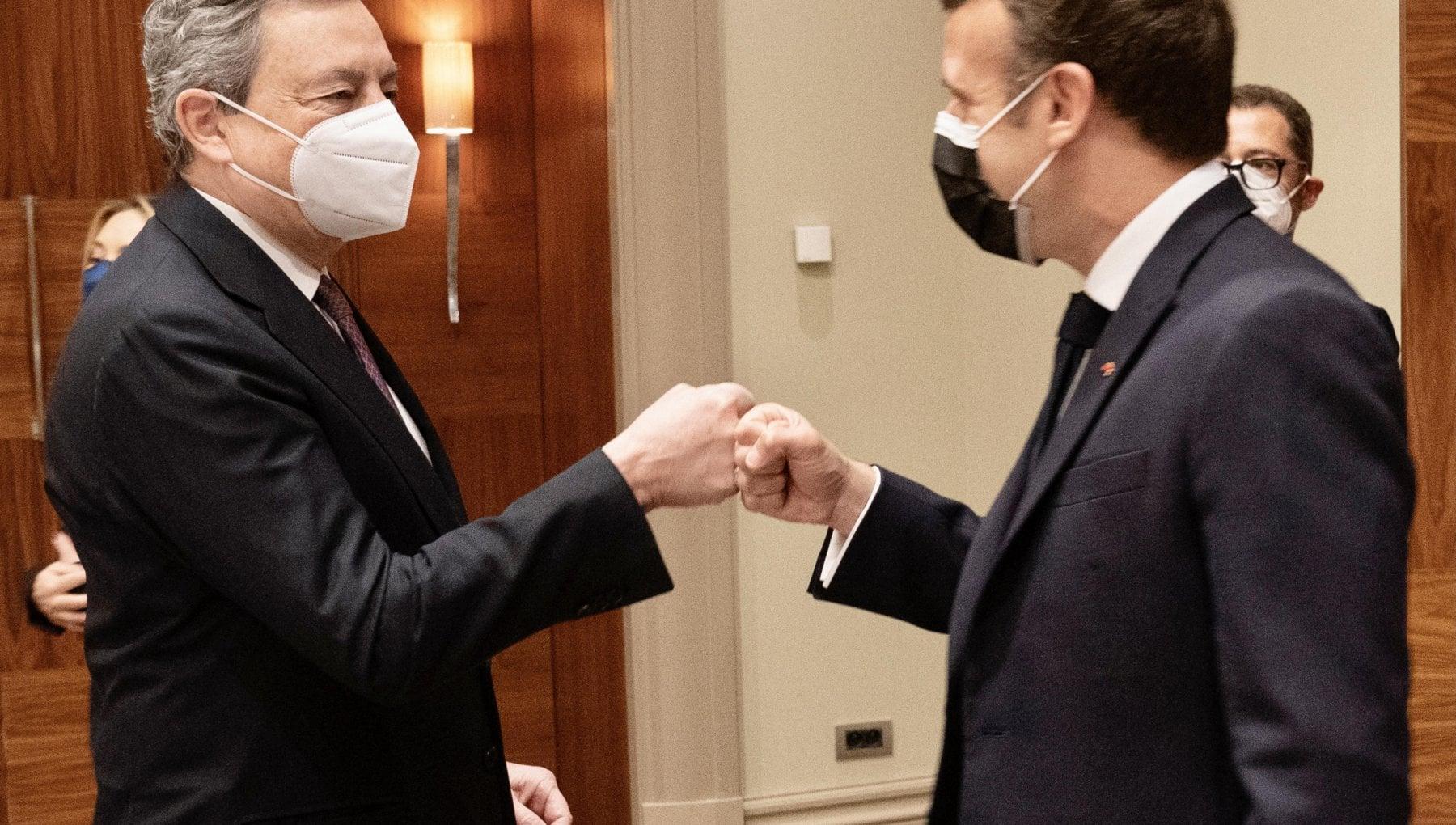 124835023 45ca4937 200a 41a5 a2d6 d3ac9178c1a1 - Bruxelles, i leader Ue si confrontano su Covid e clima. Bilaterale Draghi-Macron