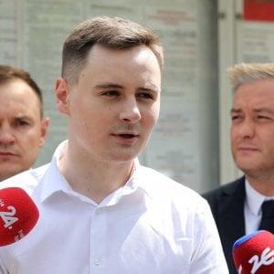"""162857321 221f1968 3235 48e3 b26b 8b957a683059 - Bielorussia, in tv nuova confessione forzata del dissidente Protasevich. """"Lodi"""" a Lukashenko"""