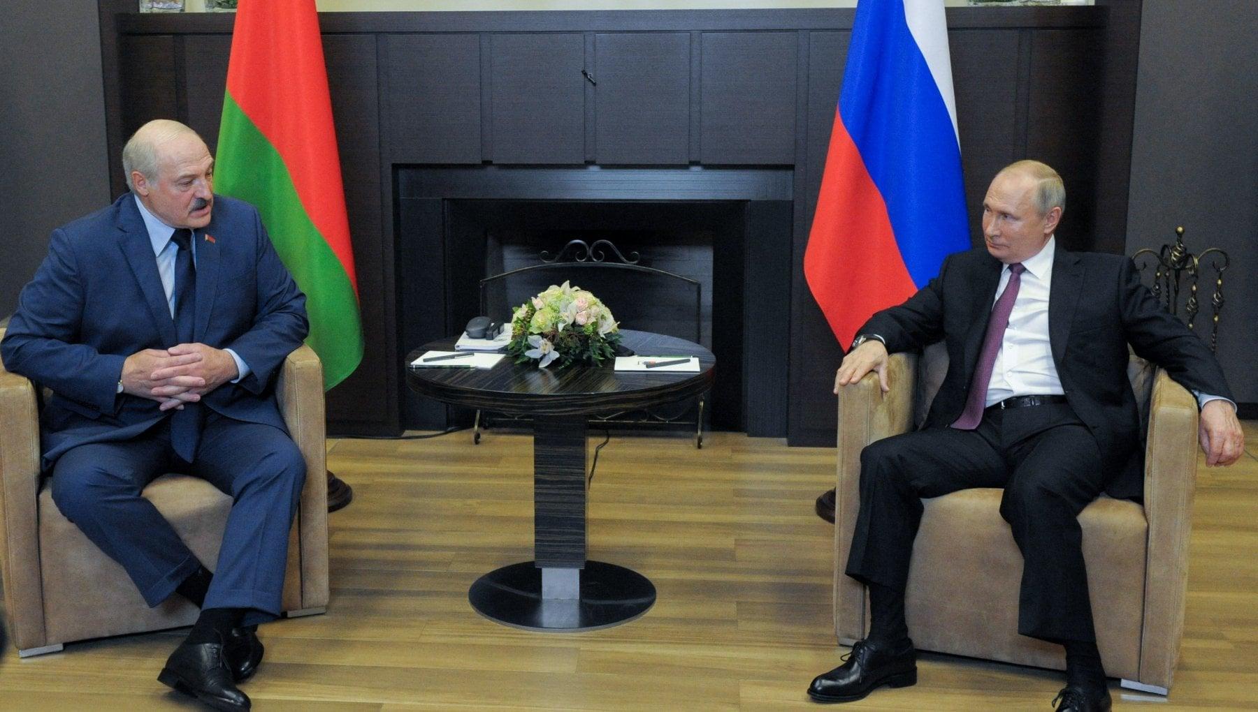 204055024 896b4a9a 9b89 4772 979f 9ac370f7c18b - Bielorussia, Putin conferma il suo sostegno a Lukashenko. Perlomeno a parole