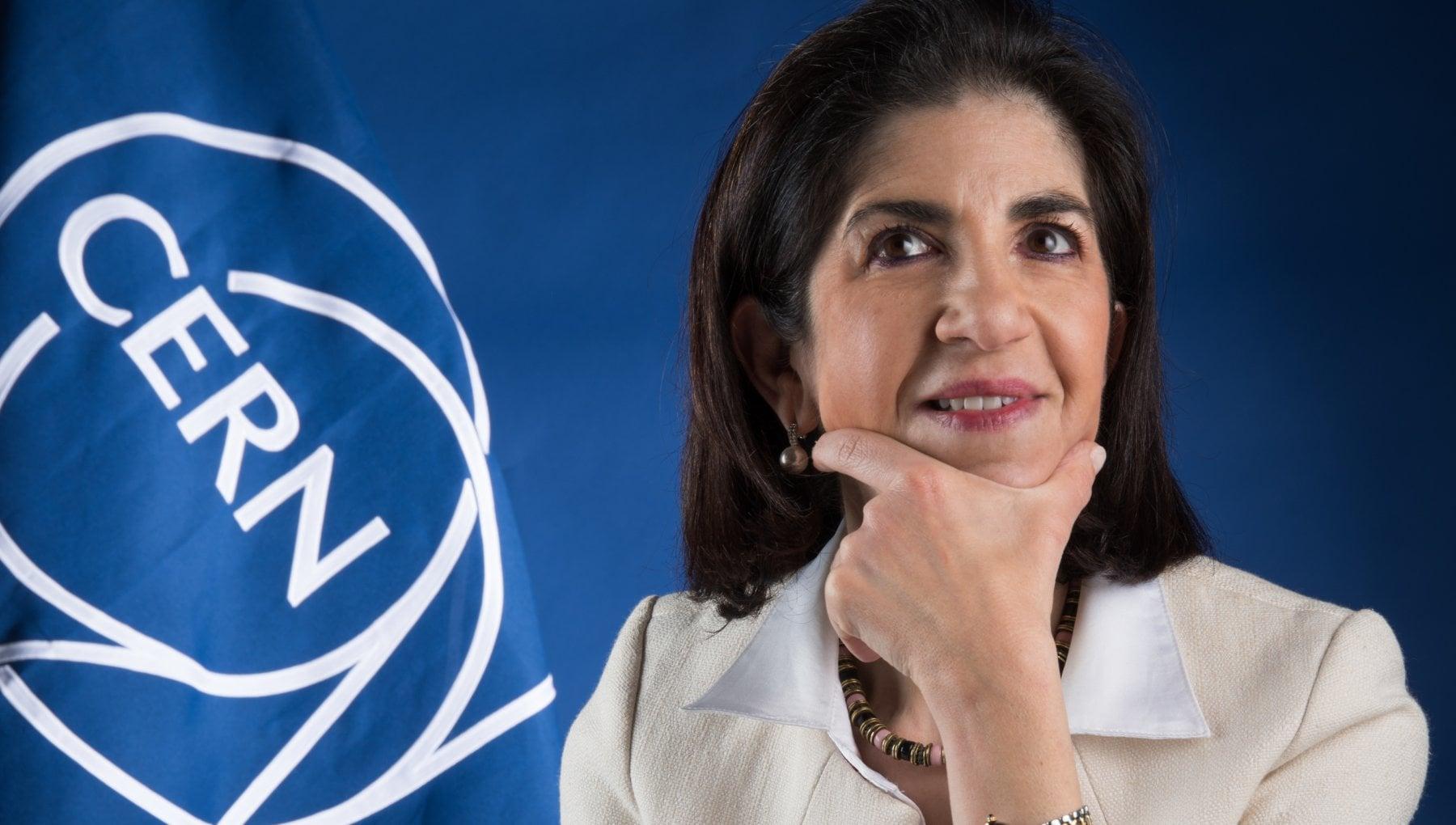 """190705463 12311973 96b1 41e7 b593 785340e89cdc - Gianotti: """"Ora la scienza è un mestiere per donne"""""""