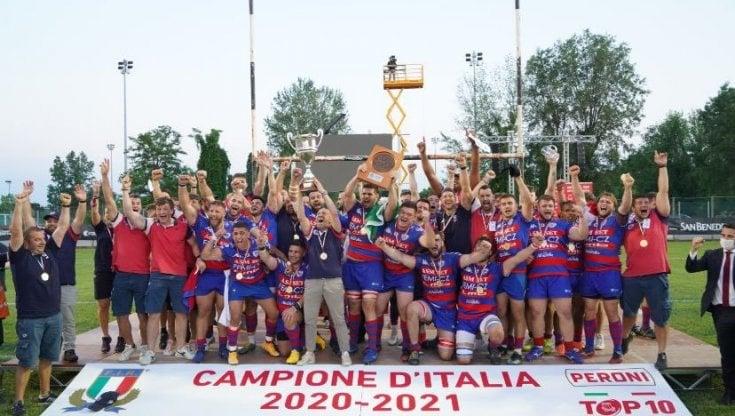 Rugby, Rovigo campione dItalia col batticuore: Padova cade sul più bello, 23-20