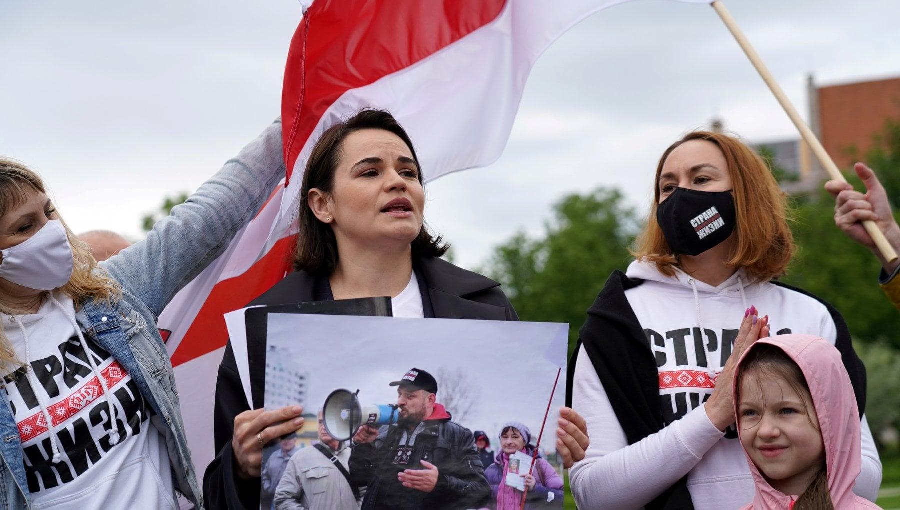 """224708826 cbd79dba b295 4f0d b7ba 301e2fd33b8e - A Vilnius, capitale della resistenza: """"Noi contro Lukashenko e Putin"""""""
