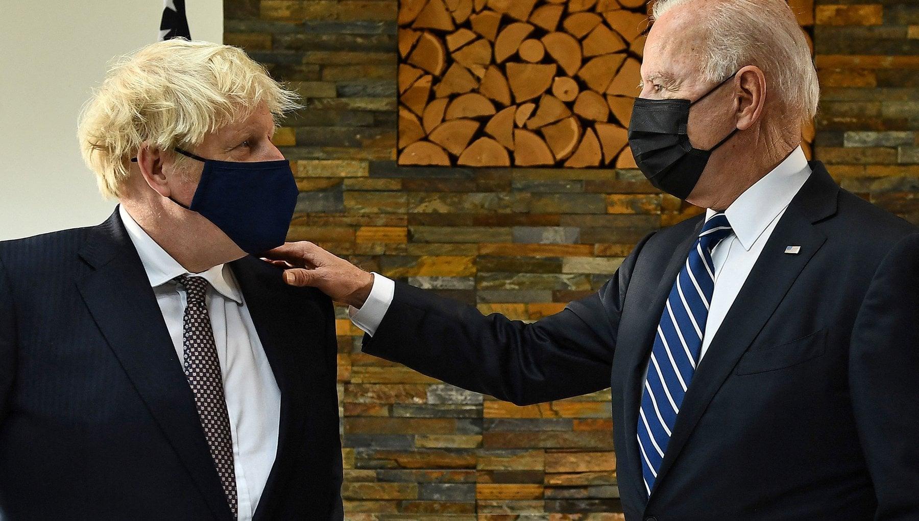 G7, al via l'incontro tra Johnson e Biden: i rapporti Regno Unito-Usa e la questione dell'Irlanda del Nord al…