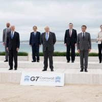 """Cornovaglia, al via il G7. Biden: """"Vaccinare il mondo"""". Draghi: """"Politiche espansive per..."""