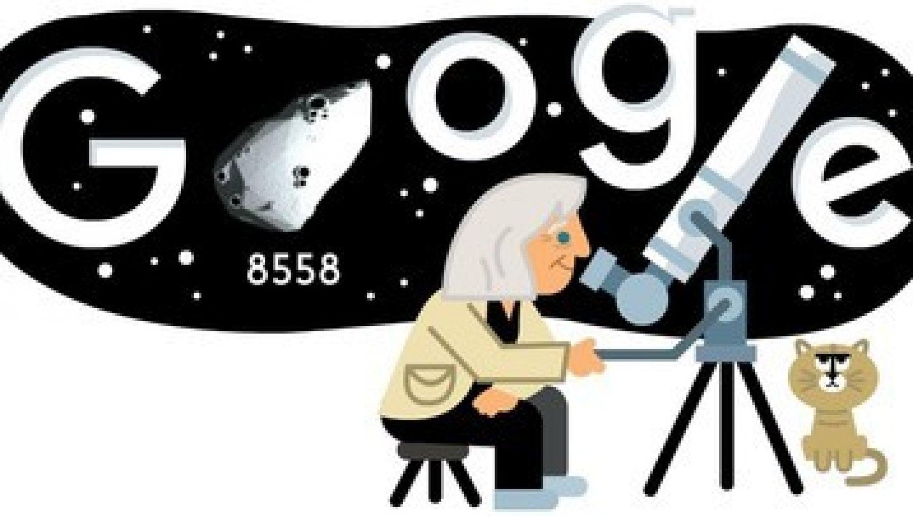 011354248 e99659f9 4c75 4c0c 997a 4ad42180ae5a - Google, un doodle 3D per i 99 anni di Margherita Hack