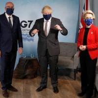 G7, irrompe il tema dei rapporti post-Brexit tra Londra e Ue