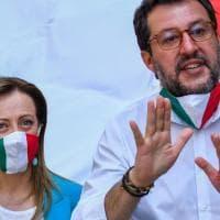 Sondaggi, Meloni davanti a Salvini. È lei la leader preferita da chi vota centrodestra