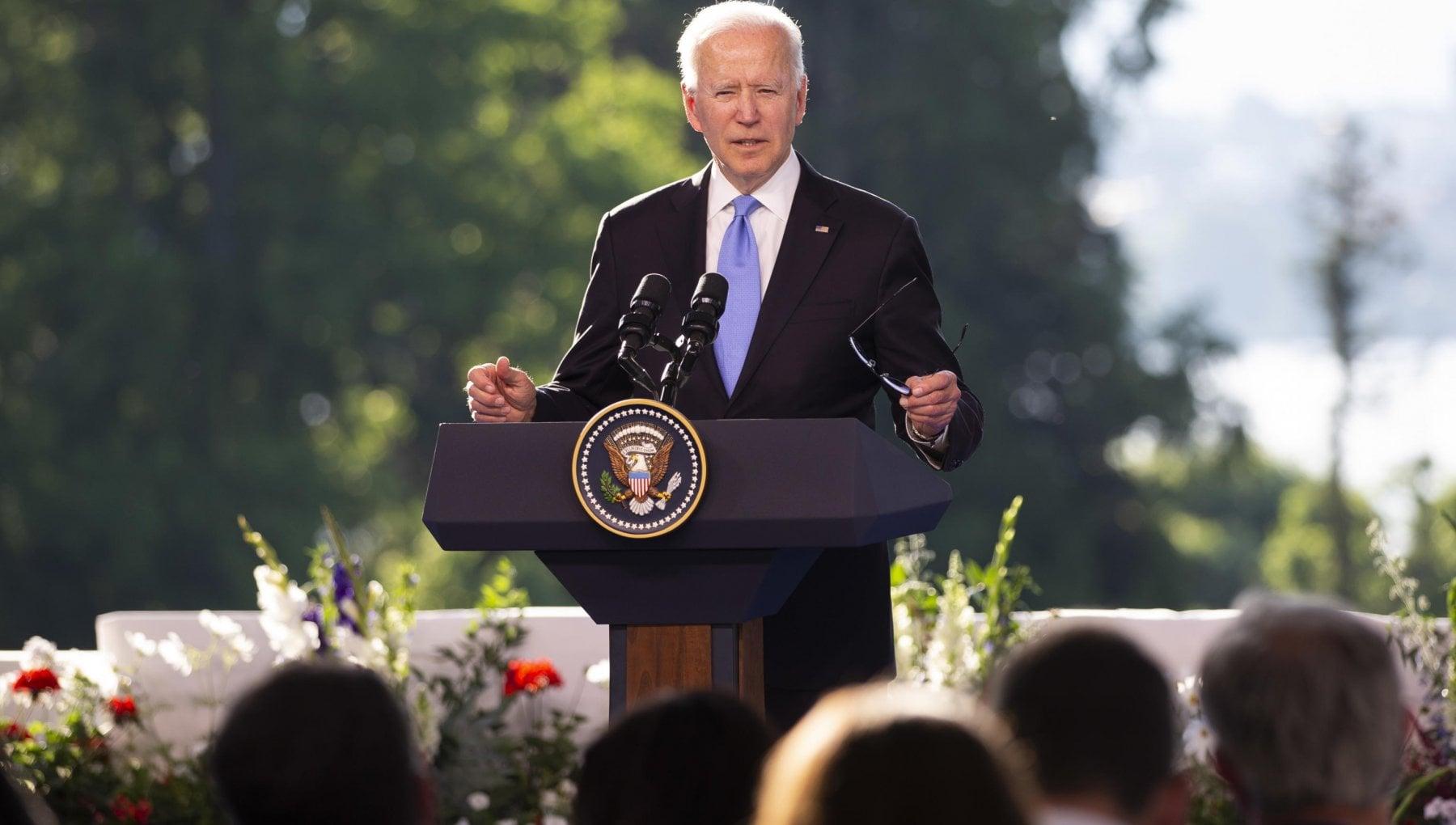 """215041504 b6b4786c ffe2 4b4d a079 2726c398ff7b - Il presidente Usa non fa sconti: """"Più che alla fiducia penso agli interessi"""""""