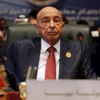 """Libia, il presidente del Parlamento: """"Vogliamo sanzioni per chi ostacola il nostro..."""