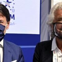 M5S, alta tensione fra Grillo e Conte. Salta la presentazione del nuovo Statuto. L'ex...