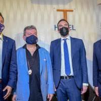 Calabria, il centrodestra presenta il ticket Occhiuto-Spirlì. E Berlusconi insiste sul...