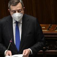 """Covid, Draghi alle Camere: """"Più di 5 milioni hanno scaricato il Green pass. Resta il..."""