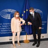 FdI, a Bruxelles il tour di Giorgia Meloni. Dai migranti alla ripresa: incontri con...