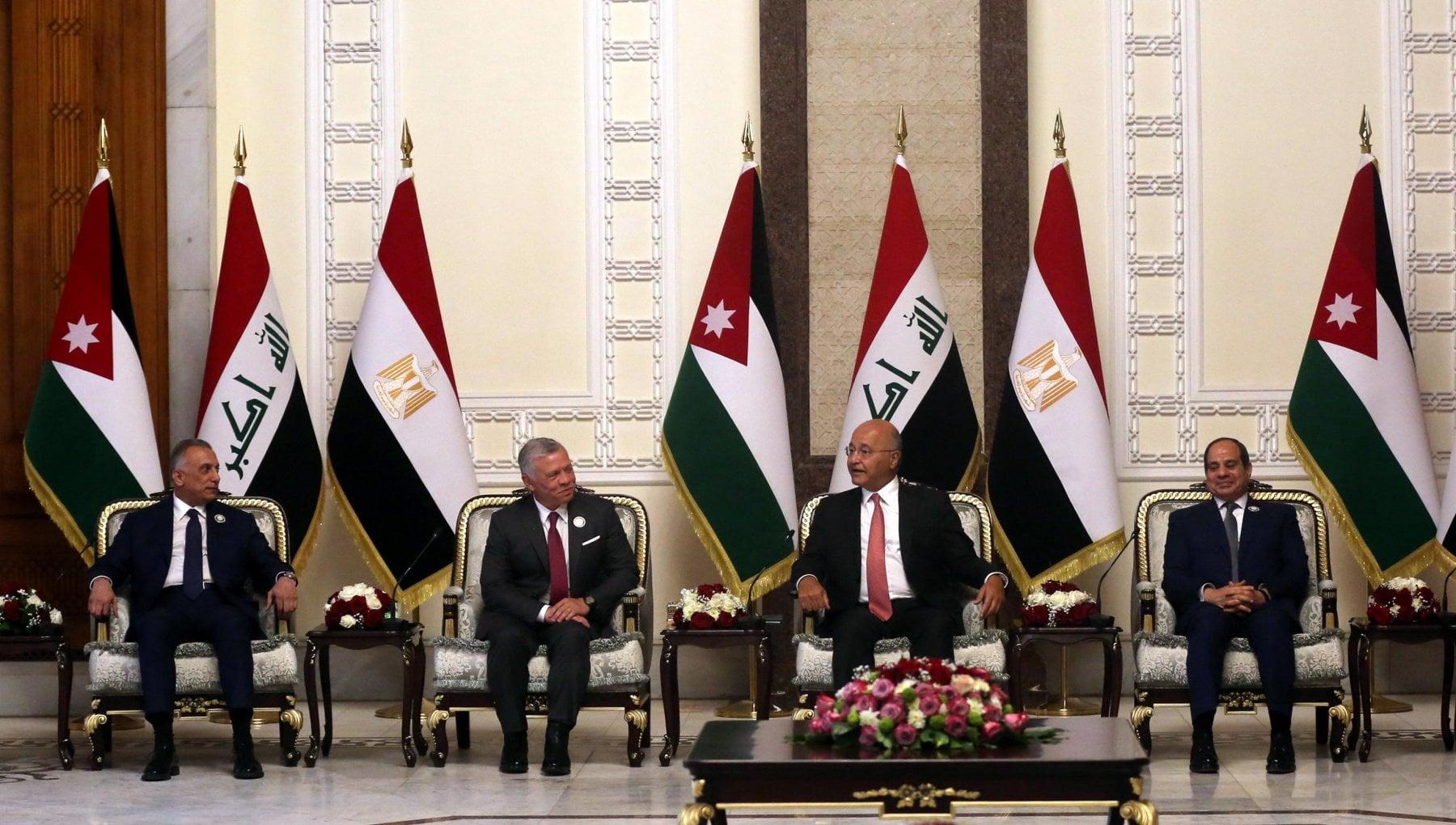 """210802613 7b38e8b3 c7ae 4e0d 86c3 6e6aa4f0d8ea - Storica visita di Al Sisi in Iraq con re Abdallah: una """"Alleanza araba"""" contro l'influenza iraniana"""
