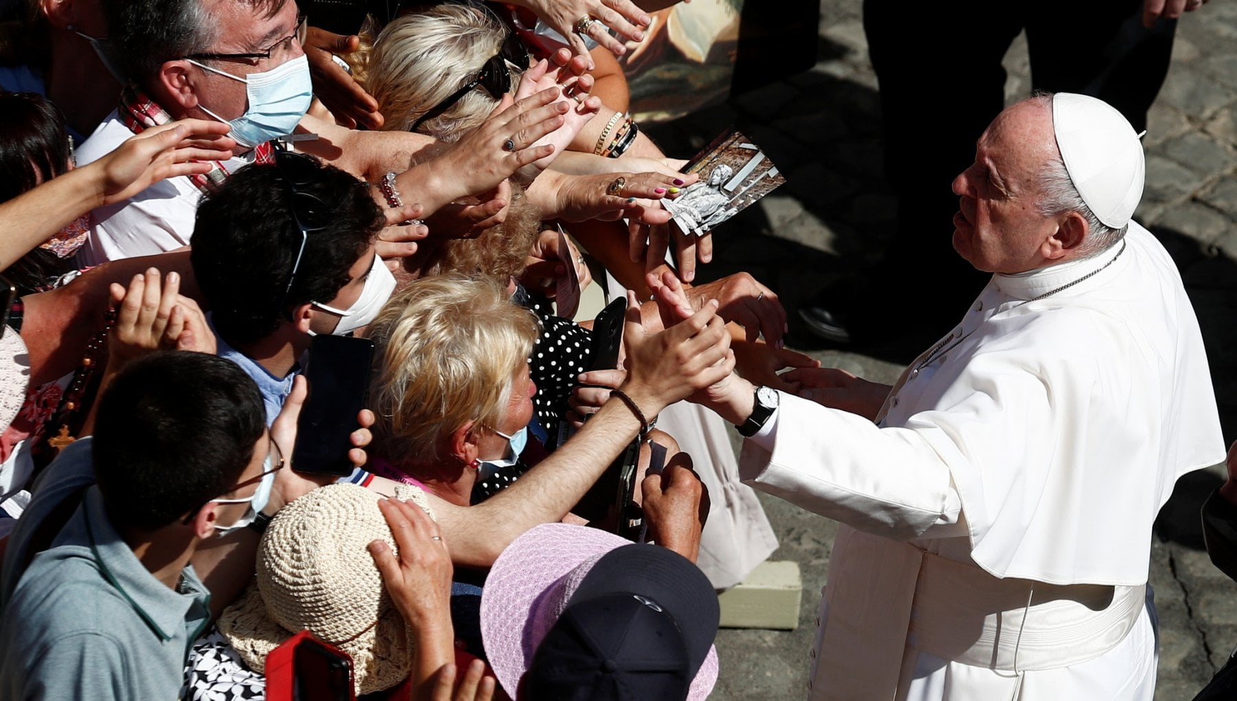 153656144 236cc757 cbdc 486e b6a2 6ed284ec2d05 - Il Papa al Gemelli per un intervento chirurgico al colon