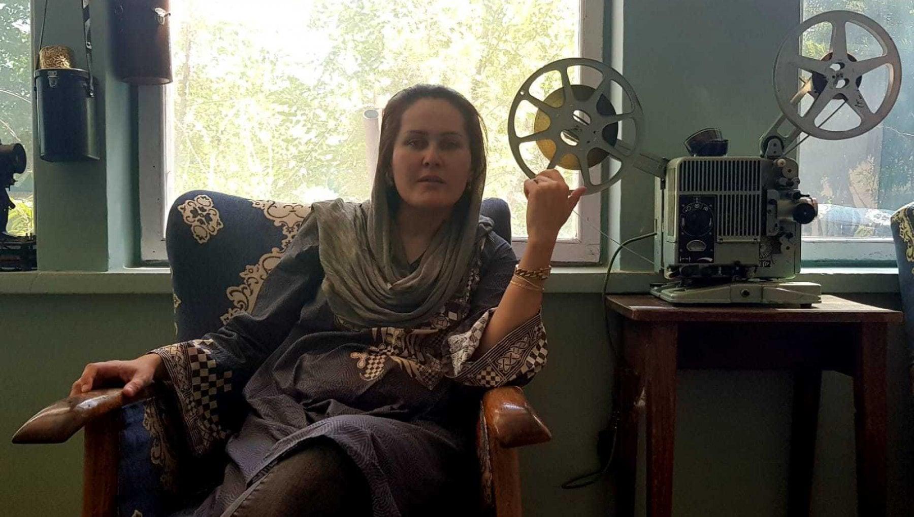 "224508996 6f941ec4 a8bc 40bf b268 82c0cfd8a54a - Fare cinema a Kabul, il coraggio di Saharaa: ""Se tornano i talebani, mi uccidono"""