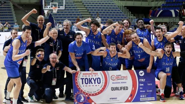 Basket, Italia da sogno: batte la Serbia a Belgrado e si qualifica per le  Olimpiadi - la Repubblica