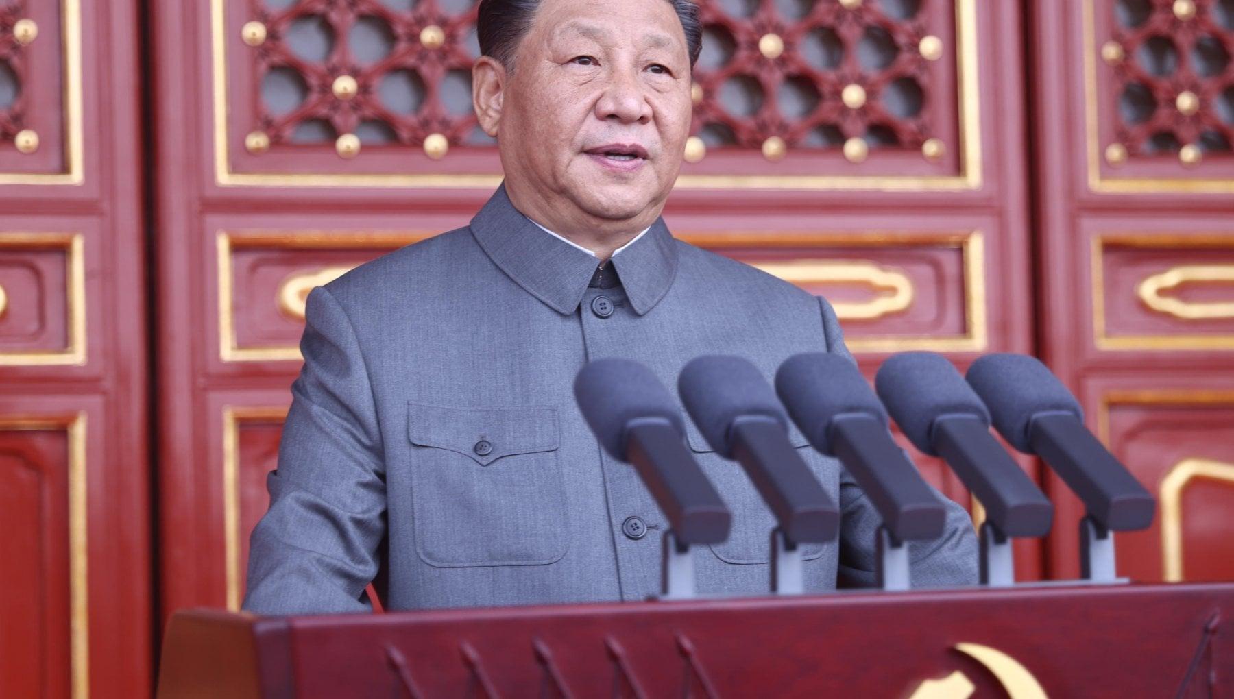 """182950297 85384dcb 09cd 491b ac8f c1e13b29463a - Xi in videochiamata con Merkel e Macron: """"La Cina spera in più collaborazione, la Ue sia autonoma"""""""